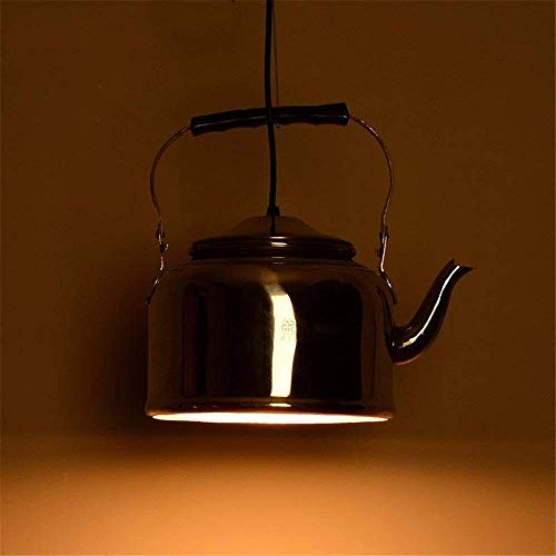 WHKHY Pendelleuchte Kreative Natur Persönlichkeit Essens-Tee-Shop-Anhänger-Wasserkocher
