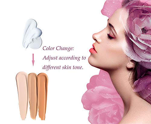 TLM Colour Changing Liquid Foundation Cream Flawless Finish