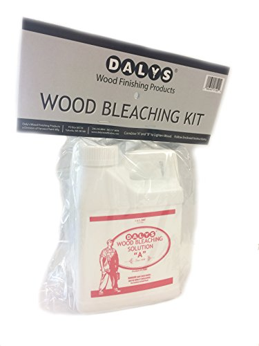 Daly's Wood Bleach Solution Kit Containing Solution A and B, 1 Pint Each