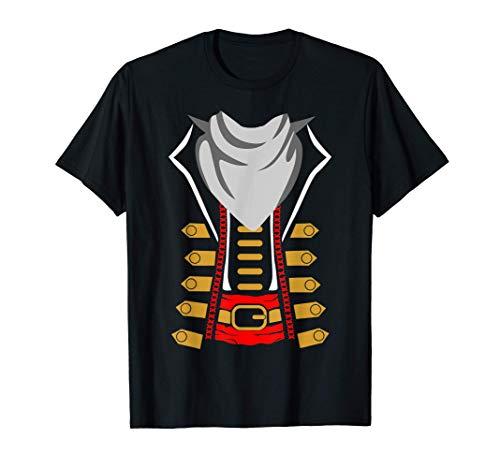 La idea del disfraz de pirata de la fiesta de Halloween de l Camiseta