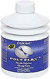 Fibreglass Evercoat 411 Poly-Flex Flexible Polyester Glazing Putty - 30 oz. Pumptainer