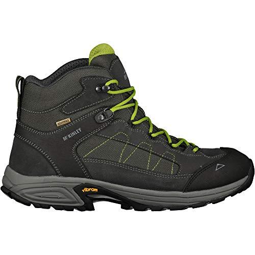 McKinley Trekking-Stiefel Denali Mid AQX II, Chaussures de Randonnée Hautes Homme, Gris Grey Dark Green Lim 000, 40.5 EU
