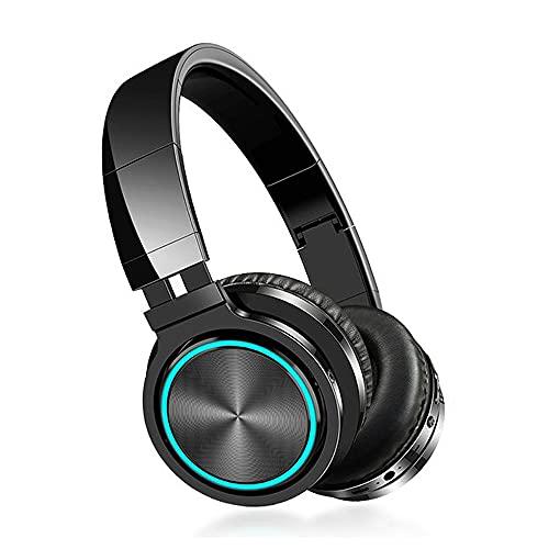 SLuB Noise-Canceling Headphones Wireless Bluetooth Headphones Foldable...