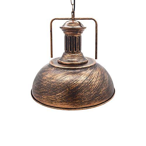 Huahan Haituo Iluminación de la lámpara de techo colgante de sombra de metal...