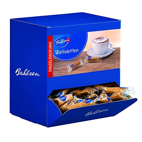 Waffeletten 760 g - Waffelgebäck in der Großpackung, ca. 150 Einzelpackungen - klassisches Gebäck zum Kaffee/Tee ohne Schokolade - praktisch fürs Büro