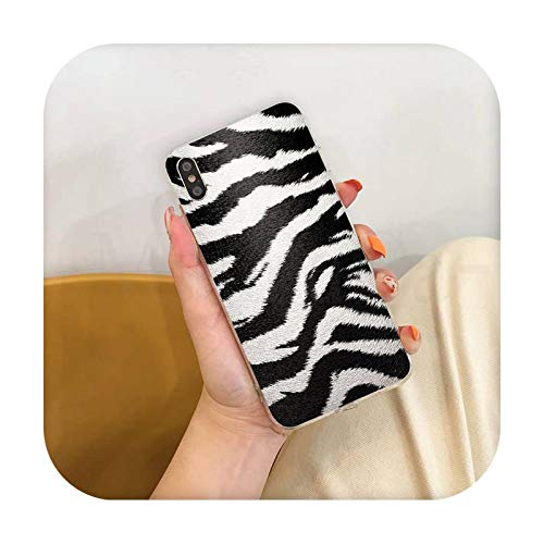 Phone cover Moda Tiger Leopard Print Panther Colorido lindo teléfono caso para Iphone Se 2020 11 Pro Xs Max 8 7 6 6S Plus X 5 5S Se Xr-A4-Para Iphone 11 Pro