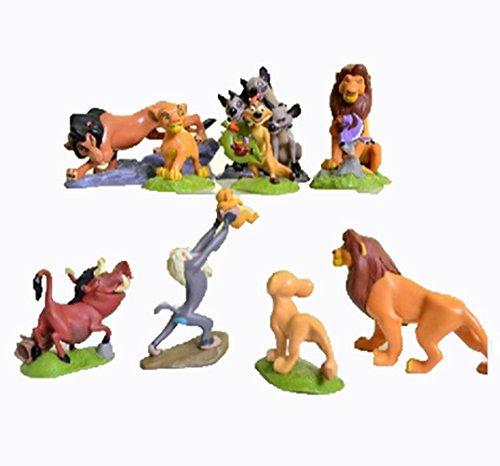 9 Pcs The Lions King Figures Toys Play Set Size 5-9cm