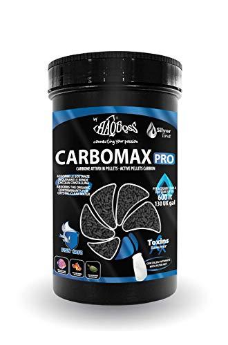 Haquoss Carbomax Pro Materiale Filtrante, 900 g