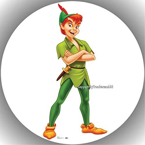 Fondant Tortenaufleger Tortenbild Geburtstag Peter Pan T11