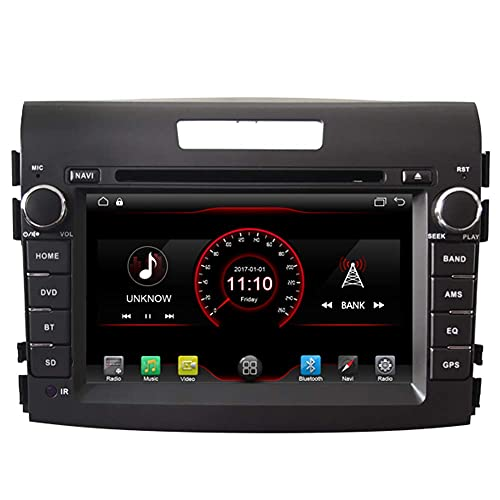 Android 10 Coche DVD Player Radio Head Unit GPS Navegación Estéreo para Honda CRV 2012 2013 2014 2015 Support Bluetooth SD USB Radio OBD WiFi DVR 1080P Lienzo de leve