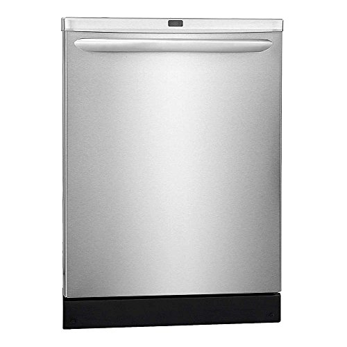 FRIGIDAIRE FGID2466QF Dishwasher,24InW x 25InD,120V,10A, Stainless Steel