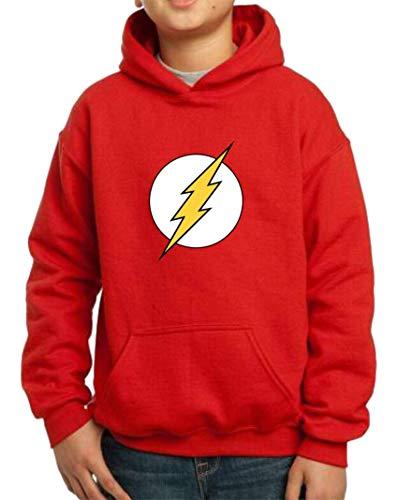 Sudadera de NIÑOS Flash Comic DC 002 9-11 años