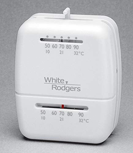 White Rodgers 1C20-102 Single Stage - Low Voltage Thermostat (24v Heat Only)