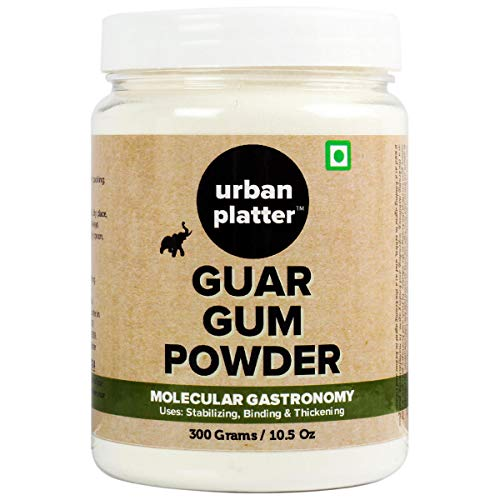 Guar Gum Powder Jar , 300 Gm (10.58 OZ) [All Natural Thickening Agent Binding Agent for Baking]