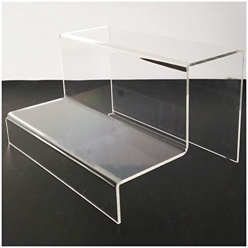 Acryl Display-ständer Rack, Schuhe Treppendisplay, für Schmuck, Cupcake, Lippenstift, Nagellack, Gewürz, 24 * 18 * 13cm