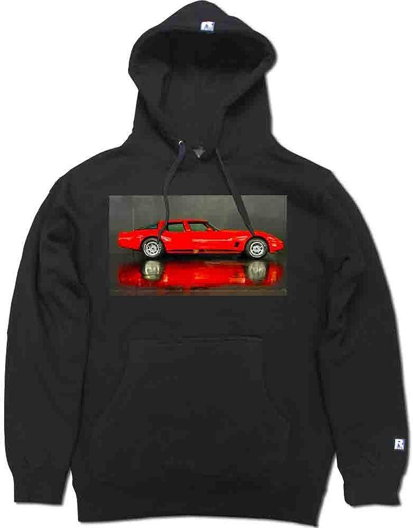 FTD Apparel R Built Men's C3 Corvette 4 Door Sedan Pullover Hooded Sweater