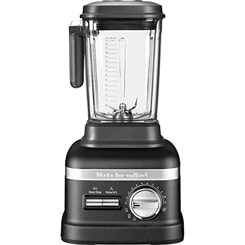 KitchenAid 5KSB8270EBK, Artisan Power Plus Blender/Standmixer, Gusseisen Schwarz