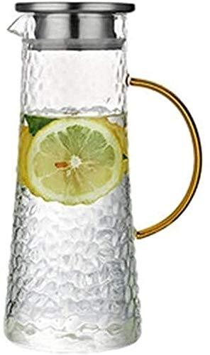 Tetera de tetera 1600 ml a prueba de explosiones taza de gran capacidad de silicio de boro taza de vidrio de vidrio tetera-1.6l taza de té