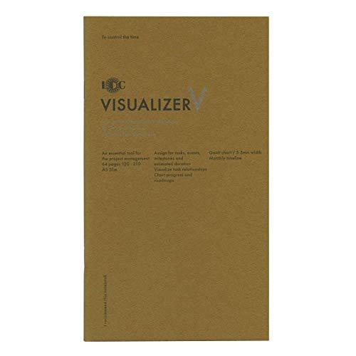 A5スリム ファンクションノート VISUALIZER(ビジュアライザー) ユナイテッドビーズ LD