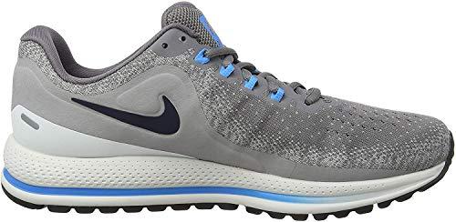 Nike Men's Air Zoom Vomero 13 Low-Top Sneakers, Multicolour (Gunsmoke/Obsidian/Atmosphere Grey 001), 5.5 UK