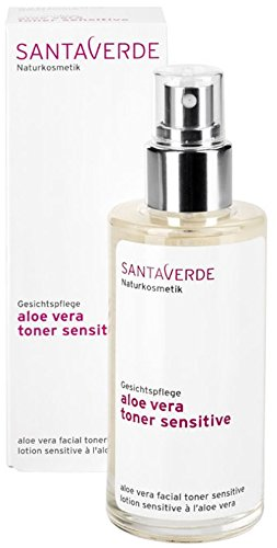 SantaVerde Aloe Vera Toner, 100ml, Sensitive