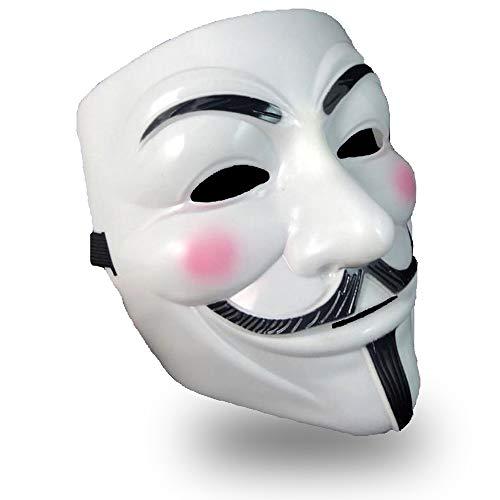 アノニマス マスク 仮面 仮装 コスプレ ガイ フォークス ハロウィン お面 V