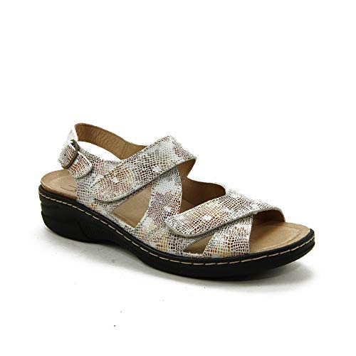 Belvida - Sandalen für: Damen, Beige - beige - Größe: 42 EU