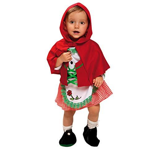 My Other Me Me-200692 Disfraz de bebé Caperucita para niña, 7-12 meses (Viving Costumes 200692)
