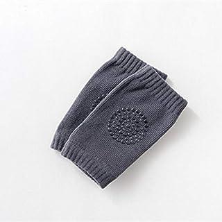 KAIBINY, KAIBINY Calcetines de arranque de 0-18 meses de bebé antideslizante rodilla de algodón del verano de los niños Dispensación de la rótula del cojín de arrastre del bebé Terry grueso Niños rodilla calen