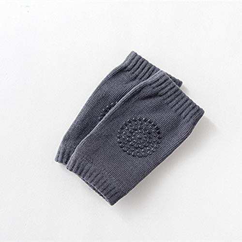 LXGANG Ninguno-Slip la rodilla del bebé cojines calentadores de la pierna de algodón suave y transpirable infantil bebés de los niños calentador de la pierna de arrastre del codo del amortiguador de l