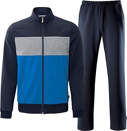Schneider Sportswear Herren BLAIRM-Anzug Trainingsanzug, Pacific/Granit, 48