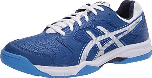 ASICS Men's Gel-Dedicate 6 Tennis Shoes, 6, ASICS Blue/White
