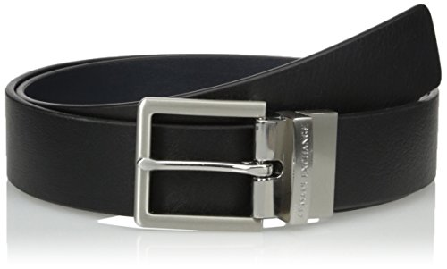 Armani Exchange Leather Belt Cinturón para Hombre