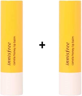 [Innisfree] Canola Honey Lip Balm 3.5g x 2