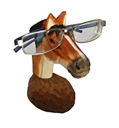 quirky office accessories - horse eyeglasses holder