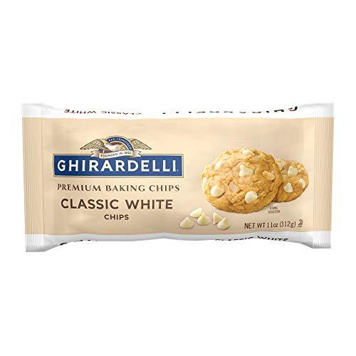 Ghirardelli Classic White Chocolate Premium Baking Chips, 11 Oz, 12Count