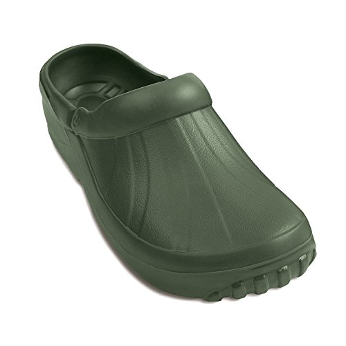 Demar - Gartenclogs - Scarpe sandali da giardino in Eva, Verde (verde), 38 EU