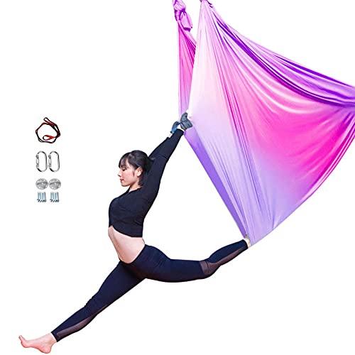 Hamaca Giratoria AéRea De La Yoga, Danza AéRea Antigravedad De Seda De La Gimnasia AcrobáTica De La Yoga del OscilacióN