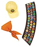Disguise Men's Disney Pixar Up Russell Costume Accessory Kit, Brown, Adult Size