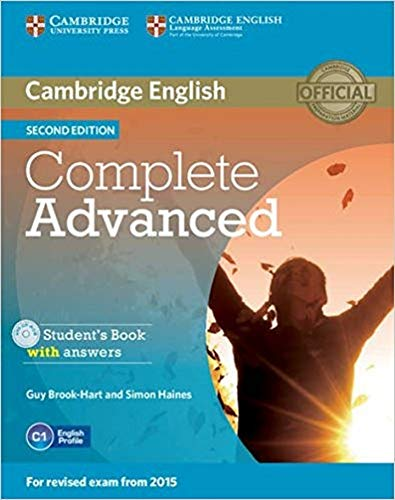 Complete Advanced Student's Book with Answers [With CDROM]