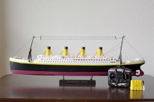 Radio Control Rc Sea Jumbo Cruise Ship Remote Control Large 3d Titanic Ship Boat with Light 30