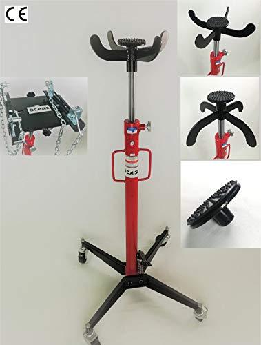 CAISER Kit Gato de Foso 500 kg. 2 Posiciones + Adaptador Doble REGULACION