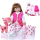Reborn Baby, Doll Soft Silicone Dolls Realista, Juguetes Full Baby Xmas Gifts Toddlers