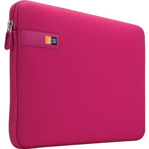 Case Logic LAPS Notebook Hulle fur 133 Zoll Laptops ultraschmales Sleeve ImpactFoam Schaumpolsterung fur Rundumschutz Laptop Tasche ideal fur Chromebook oder Ultrabook Pink
