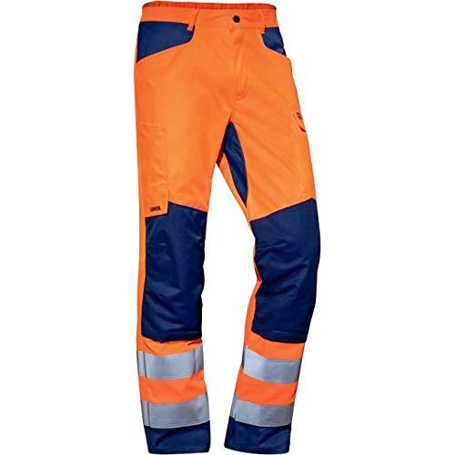 Uvex Suxxeed Construction - Orange Herren-Arbeitshose - Warnschutz 52
