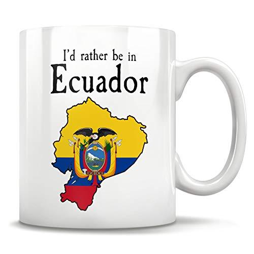 Ecuador Gift Mug Ecuador, Ecuador Souvenir, Ecuador Orgullo, Ecuador Bandera Ecuador, Ecuador Ecuador, Ecuador Ecuador, Regalo perfecto para Ecuador, Taza de café de 11 oz