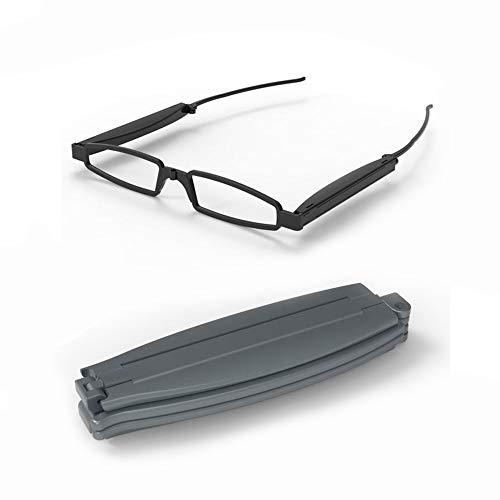 horen Modische Faltbare Taschenbrille Faltbrille Unisex Lesebrille Unisex für Frauen Und Männer Ab 35-70 Jahren