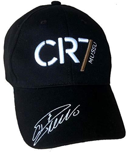 CR7 MUSEU Cappello Cristiano Ronaldo Originale Ufficiale Cappellino Berretto cap in Cotone CAPCR7007