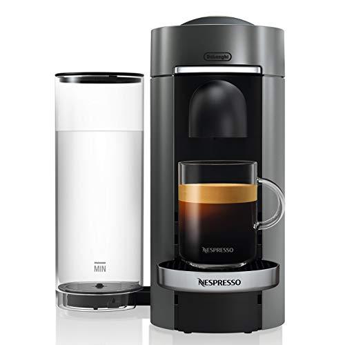 Nespresso by De'Longhi VertuoPlus Deluxe Coffee and Espresso Machine by De'Longhi, Titan