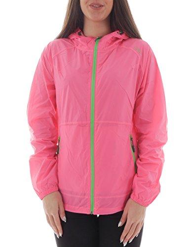 Campagnolo fIX hOOD sweat à capuche pour femme wIND veste pour homme bLOCK 14 (rose) Rose rose bonbon Taille 40